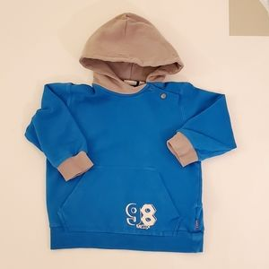 Mexx Blue Cotton Long Sleeve Hoodie 18-24M